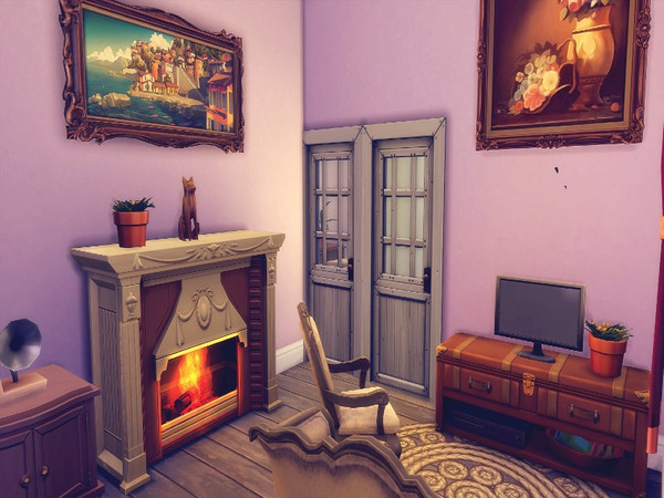 Dutch small country house by GenkaiHaretsu at TSR image 2212 Sims 4 Updates