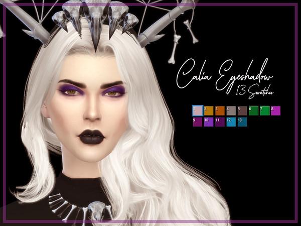 Sims 4 Calia Eyeshadow by Reevaly at TSR