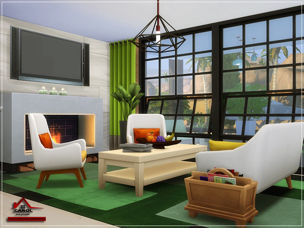CAROL modern house NO CC by marychabb at TSR image 2220 Sims 4 Updates