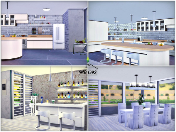 Ingrid modern spacious house by nobody1392 at TSR image 2230 Sims 4 Updates