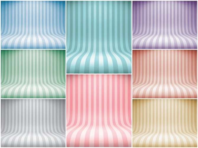 Sims 4 Striped Studio CAS Backgrounds at Katverse