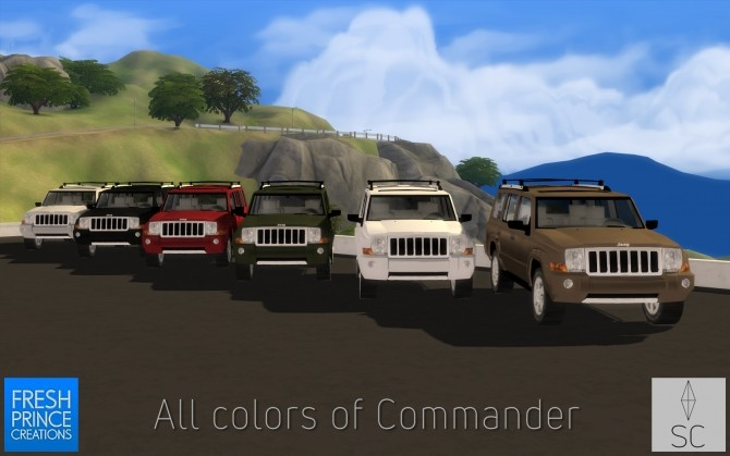 FPs 2008 Jeep Commander by SimsCraft at Mod The Sims image 2303 670x419 Sims 4 Updates