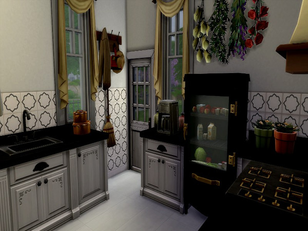 Dutch small country house by GenkaiHaretsu at TSR image 2312 Sims 4 Updates