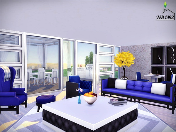 Ingrid modern spacious house by nobody1392 at TSR image 2330 Sims 4 Updates