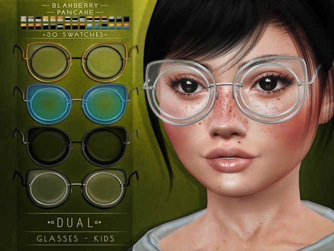 Carved & Dual glasses for kids at Blahberry Pancake image 2341 670x503 Sims 4 Updates