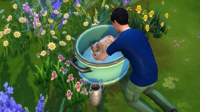 Off grid Toddler/Pet Washtub by K9DB at Mod The Sims image 2343 670x377 Sims 4 Updates