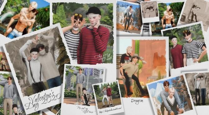 Valentine's Day 2020 Pose Pack at Helga Tisha image 2351 670x368 Sims 4 Updates