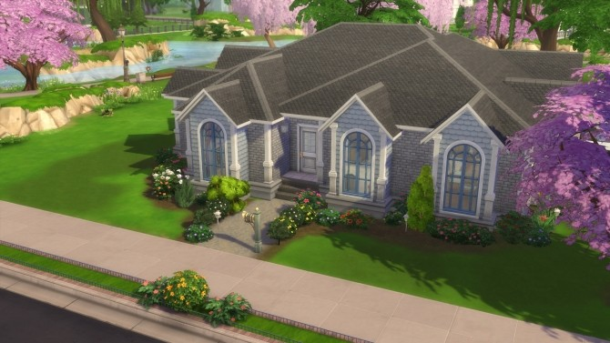 Sims 4 Beautiful Bungalow (Legacy Build) by stevo445 at Mod The Sims
