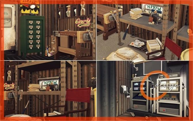 Sims 4 The Hidden Bunker at Cross Design