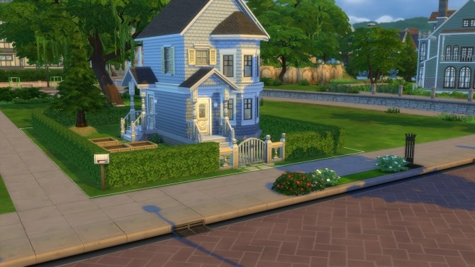 Sims 4 Tiny Victorian Home by stevo445 at Mod The Sims