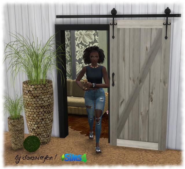 Decorative sliding door by dorosimfan1 at Sims Marktplatz image 2432 Sims 4 Updates
