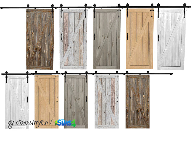 Decorative sliding door by dorosimfan1 at Sims Marktplatz image 2442 Sims 4 Updates