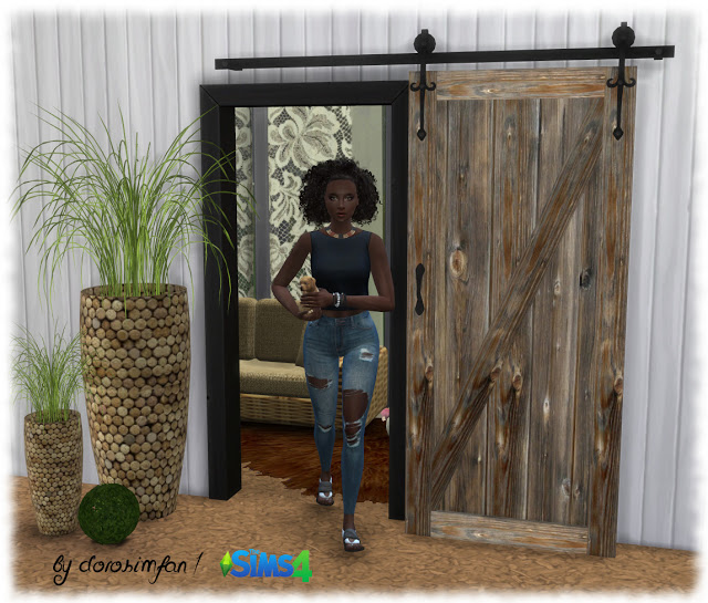 Decorative sliding door by dorosimfan1 at Sims Marktplatz image 2452 Sims 4 Updates