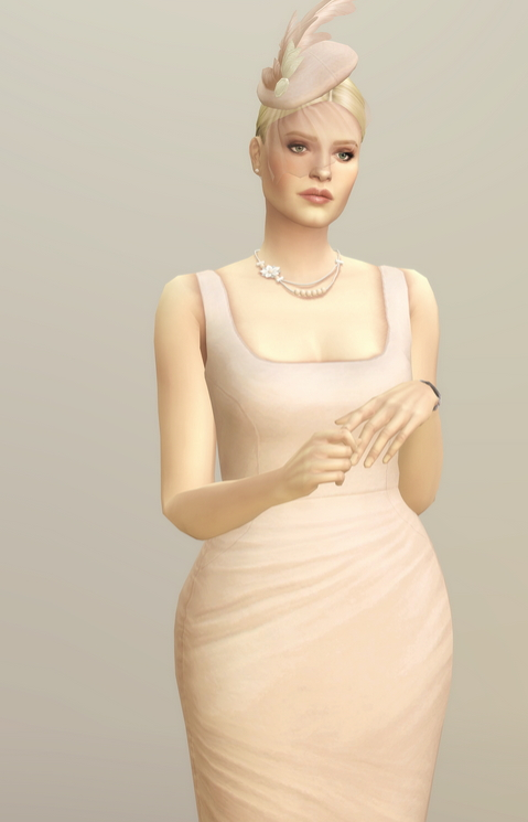 Lady of Dress in 20 colors at Rusty Nail image 2561 Sims 4 Updates