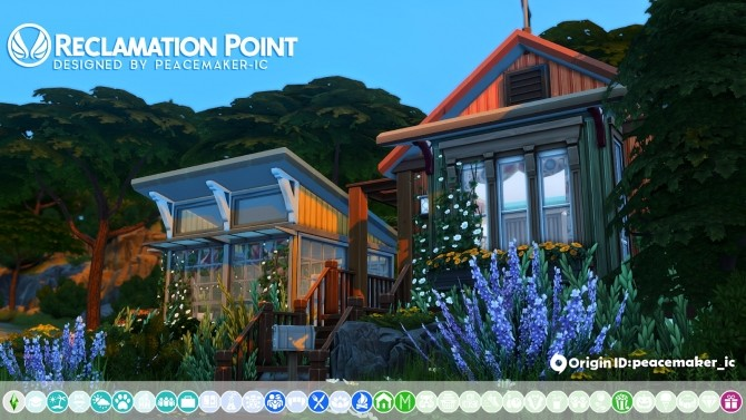 Reclamation Point   Small Recycled Island Home at Simsational Designs image 263 670x377 Sims 4 Updates