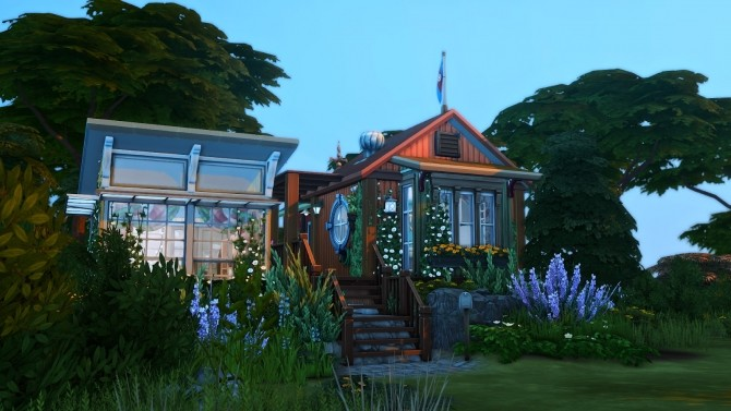 Reclamation Point   Small Recycled Island Home at Simsational Designs image 264 670x377 Sims 4 Updates