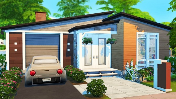 STUDENT MOM TINY HOUSE at Aveline Sims image 2641 670x377 Sims 4 Updates