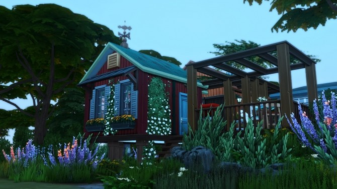 Reclamation Point   Small Recycled Island Home at Simsational Designs image 265 670x377 Sims 4 Updates
