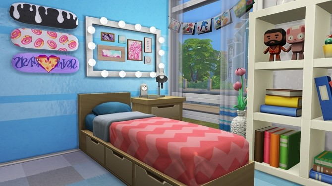 STUDENT MOM TINY HOUSE at Aveline Sims image 2651 670x377 Sims 4 Updates