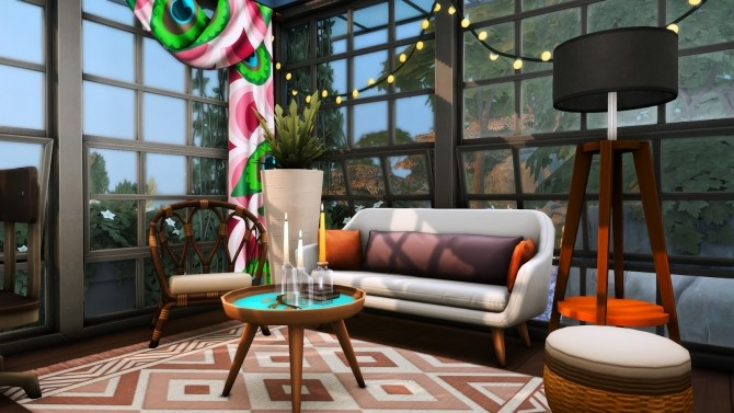 Sims 4 Reclamation Point   Small Recycled Island Home at Simsational Designs