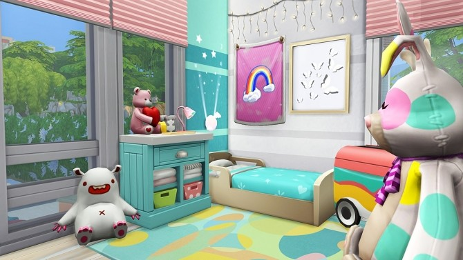 STUDENT MOM TINY HOUSE at Aveline Sims image 2661 670x377 Sims 4 Updates