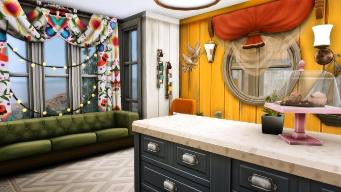 Reclamation Point   Small Recycled Island Home at Simsational Designs image 267 670x377 Sims 4 Updates