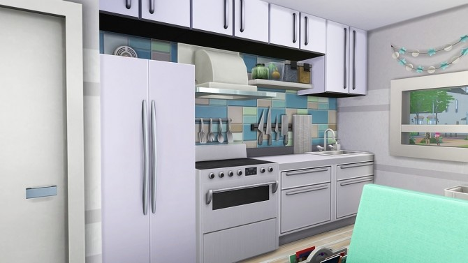 STUDENT MOM TINY HOUSE at Aveline Sims image 2671 670x377 Sims 4 Updates