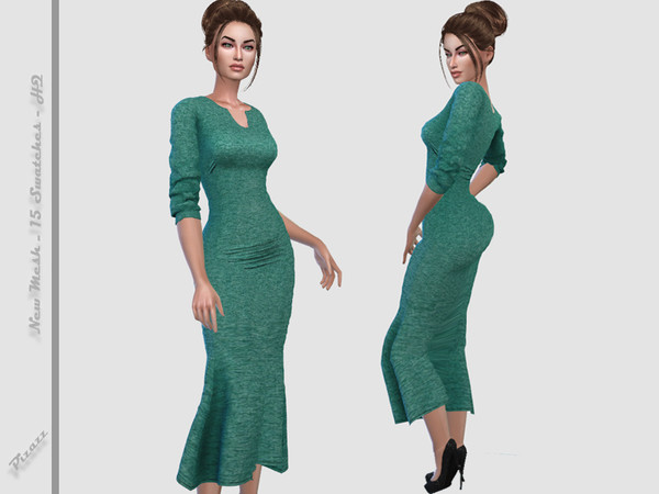 Sims 4 The Dress by pizazz at TSR