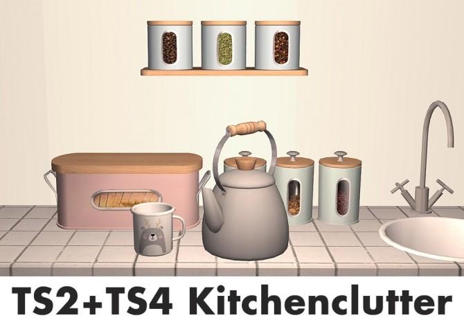 Recolors of Severinka's TS4 kitchenware at Riekus13 image 2720 670x472 Sims 4 Updates