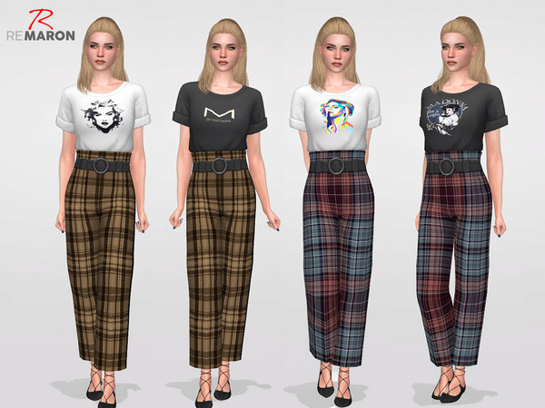 Madonnas set for Women by remaron at TSR image 2725 Sims 4 Updates