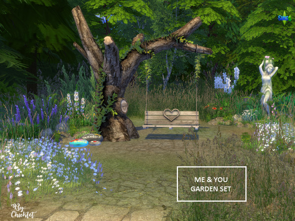 Me and You Garden Set by Chicklet453681 at TSR image 2822 Sims 4 Updates
