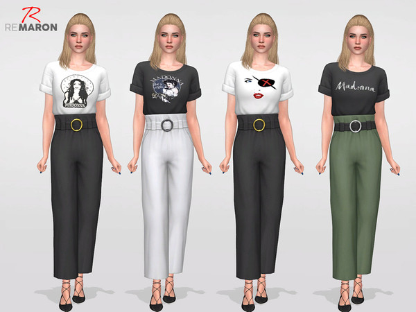 Madonnas set for Women by remaron at TSR image 2823 Sims 4 Updates