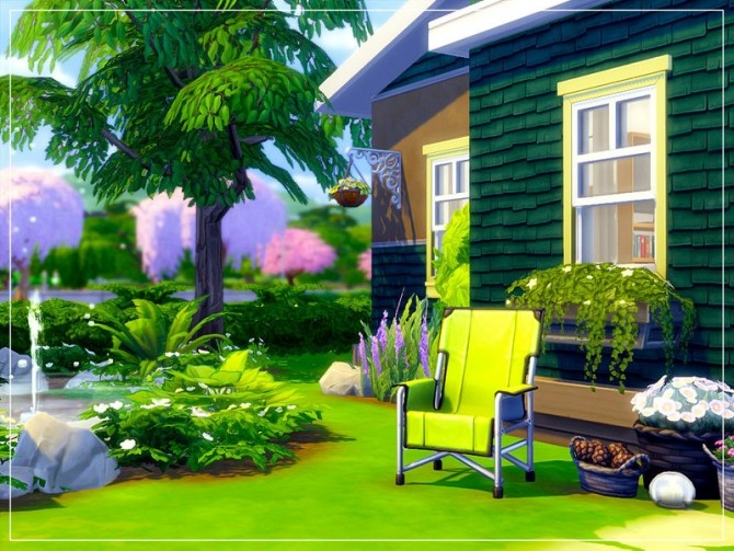Sims 4 Greenwood house by sharon337 at TSR