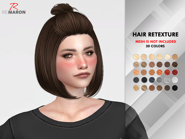 Mars Hair Retexture by remaron at TSR image 2915 Sims 4 Updates