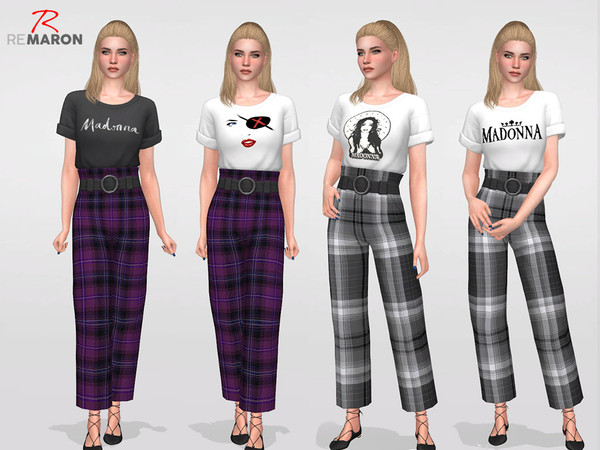 Madonnas set for Women by remaron at TSR image 2920 Sims 4 Updates