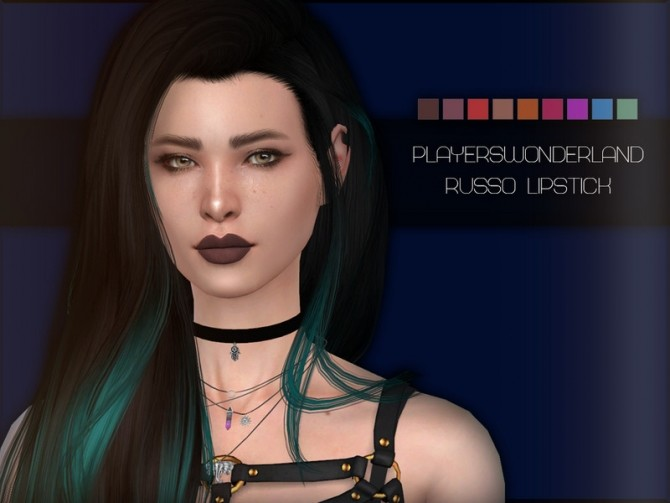 Russo Lipstick by PlayersWonderland at TSR image 2925 670x503 Sims 4 Updates