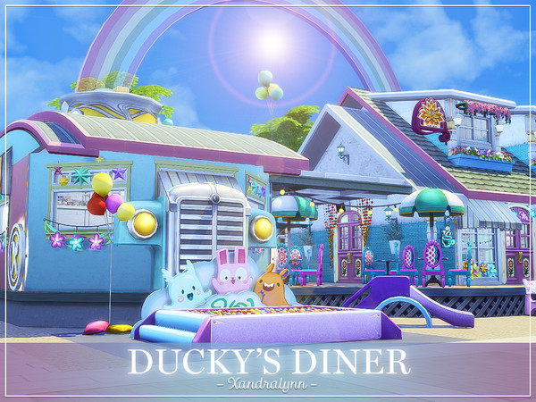 Duckys Diner by Xandralynn at TSR image 299 Sims 4 Updates
