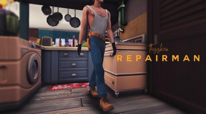 Repairman & Safety hard hat at Kiro image 3011 670x371 Sims 4 Updates