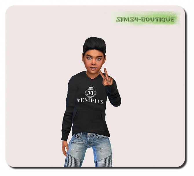 Designer Set for Boys TS4 (Set 2 ) at Sims4 Boutique image 3013 670x606 Sims 4 Updates