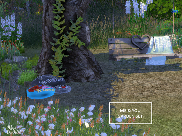 Me and You Garden Set by Chicklet453681 at TSR image 3016 Sims 4 Updates