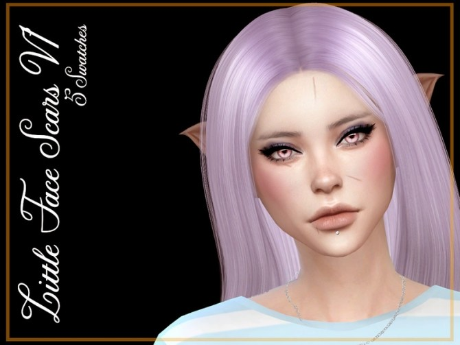 Little Face Scars V1 by Reevaly at TSR image 3022 670x503 Sims 4 Updates