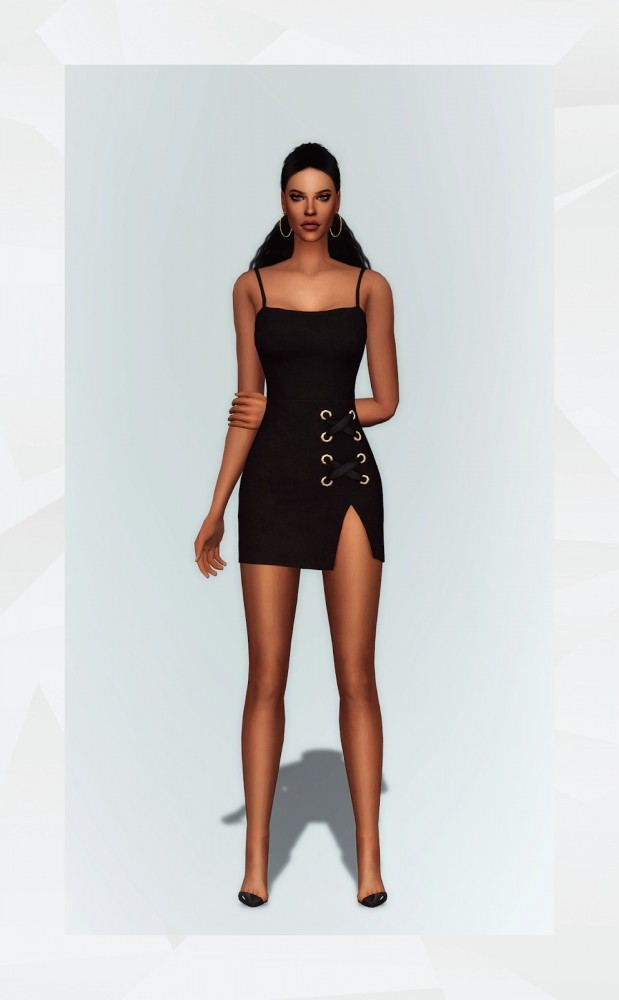 Eyelet Dress at Gorilla image 3121 619x1000 Sims 4 Updates