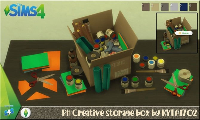 Storage boxes by Kyta1702 at Simmetje Sims image 3151 670x402 Sims 4 Updates