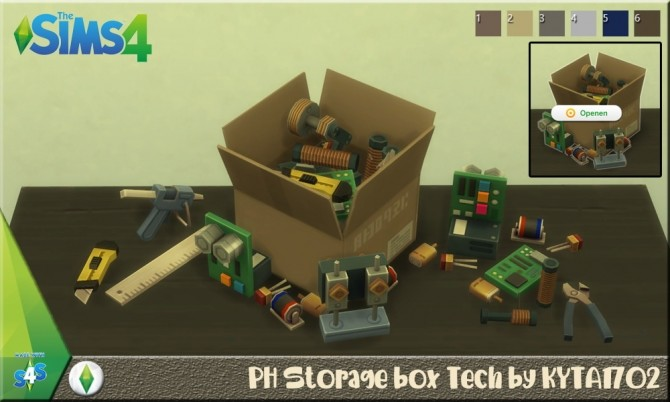 Storage boxes by Kyta1702 at Simmetje Sims image 3161 670x402 Sims 4 Updates