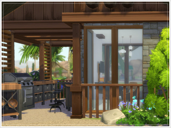 Nina Micro Home by philo at TSR image 324 Sims 4 Updates