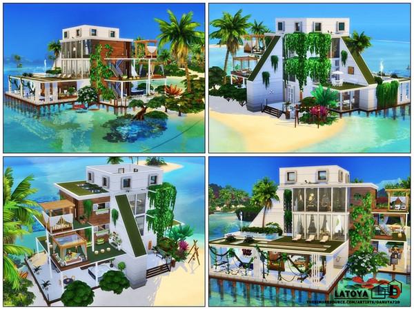 Sims 4 Latoya home by Danuta720 at TSR