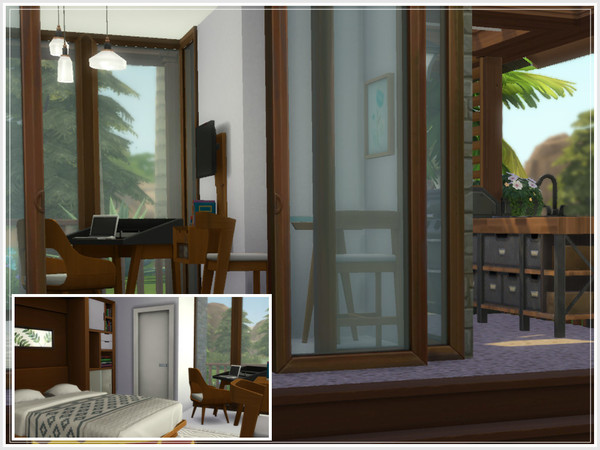 Nina Micro Home by philo at TSR image 344 Sims 4 Updates