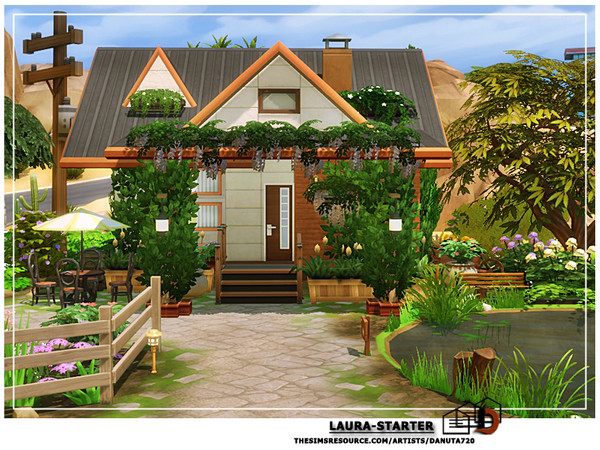 Laura starter by Danuta720 at TSR image 3516 Sims 4 Updates