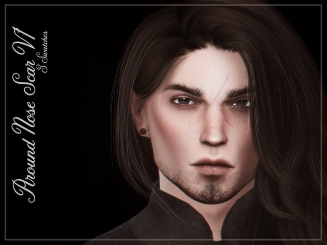 Around Nose Scar V1 by Reevaly at TSR image 3517 670x503 Sims 4 Updates