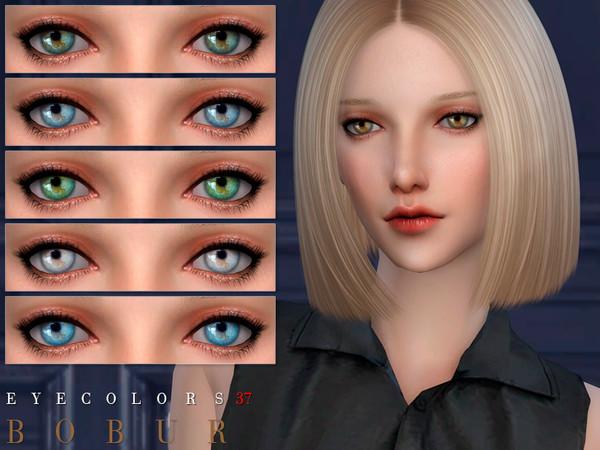 Sims 4 Eyecolors 37 by Bobur3 at TSR